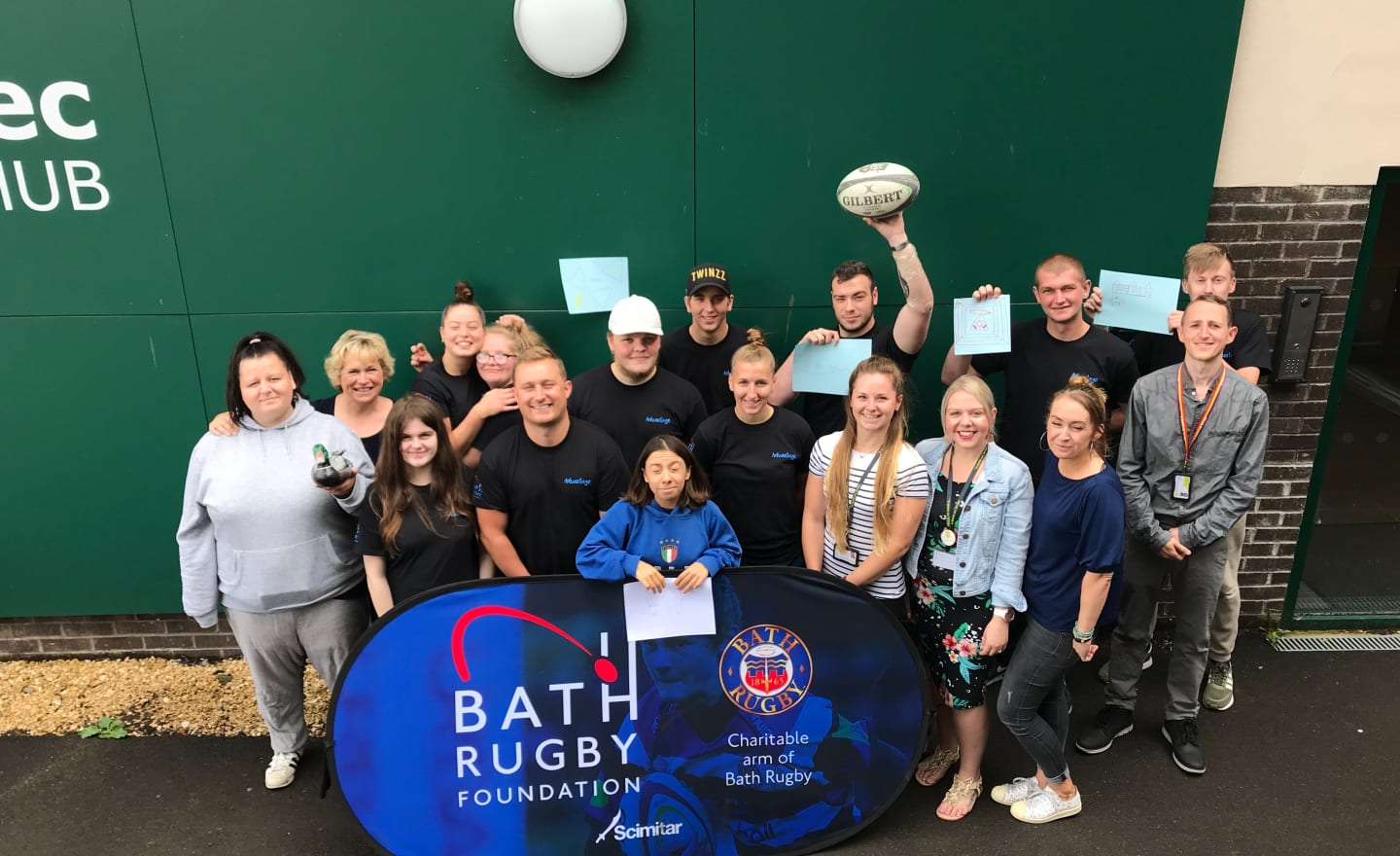 Bath College and Bath Rugby Foundation work with young people to boost confidence and employability skills