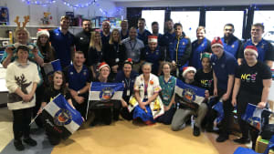 Bath Rugby Foundation and Bath Rugby spread festive joy at the RUH