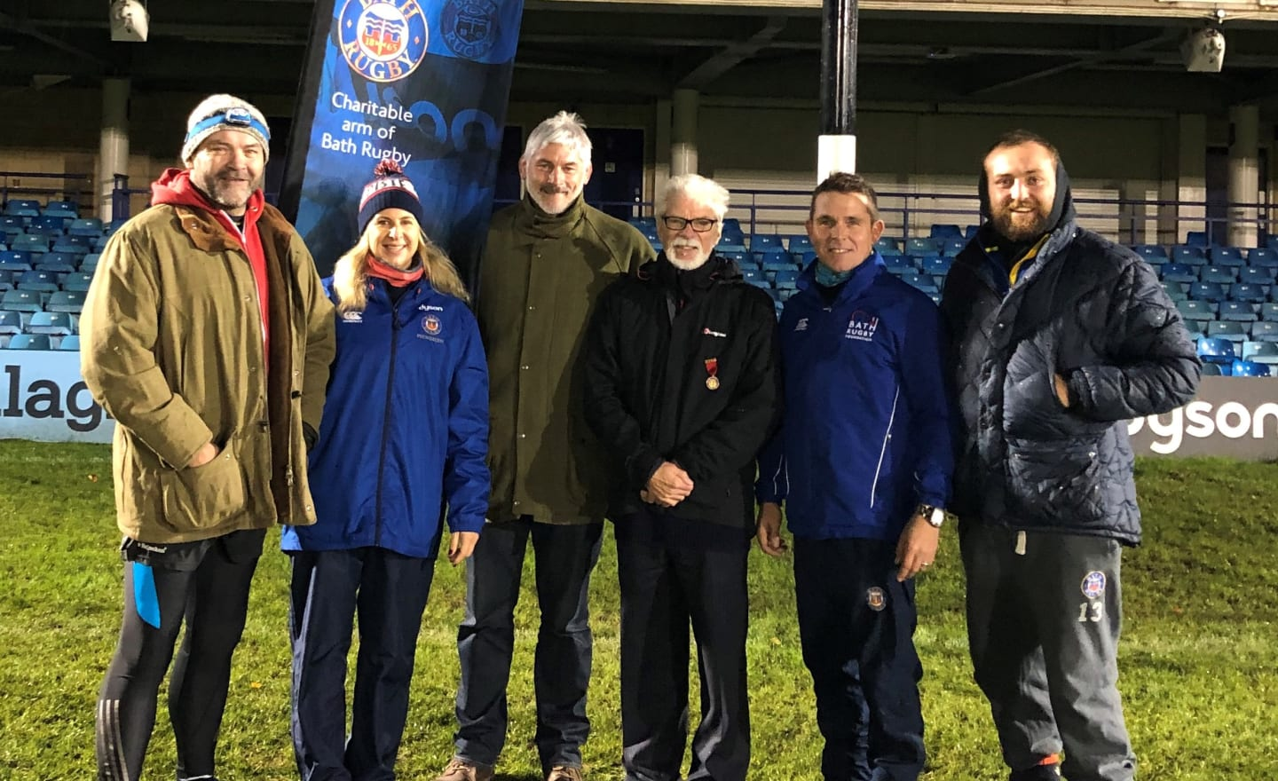 Spend the night at the home of Bath Rugby at The Rec Sleep Out