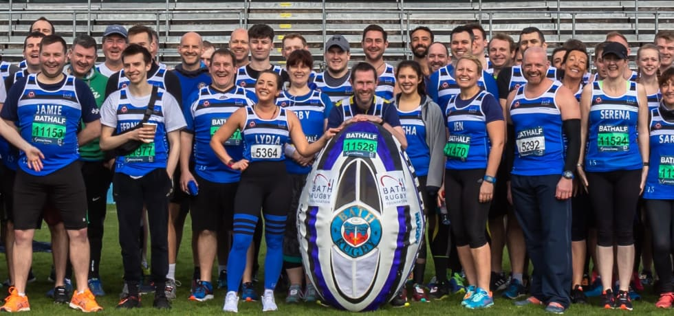 Read: Can Ian break a World Record for Bath Rugby Foundation at the Bath Half?
