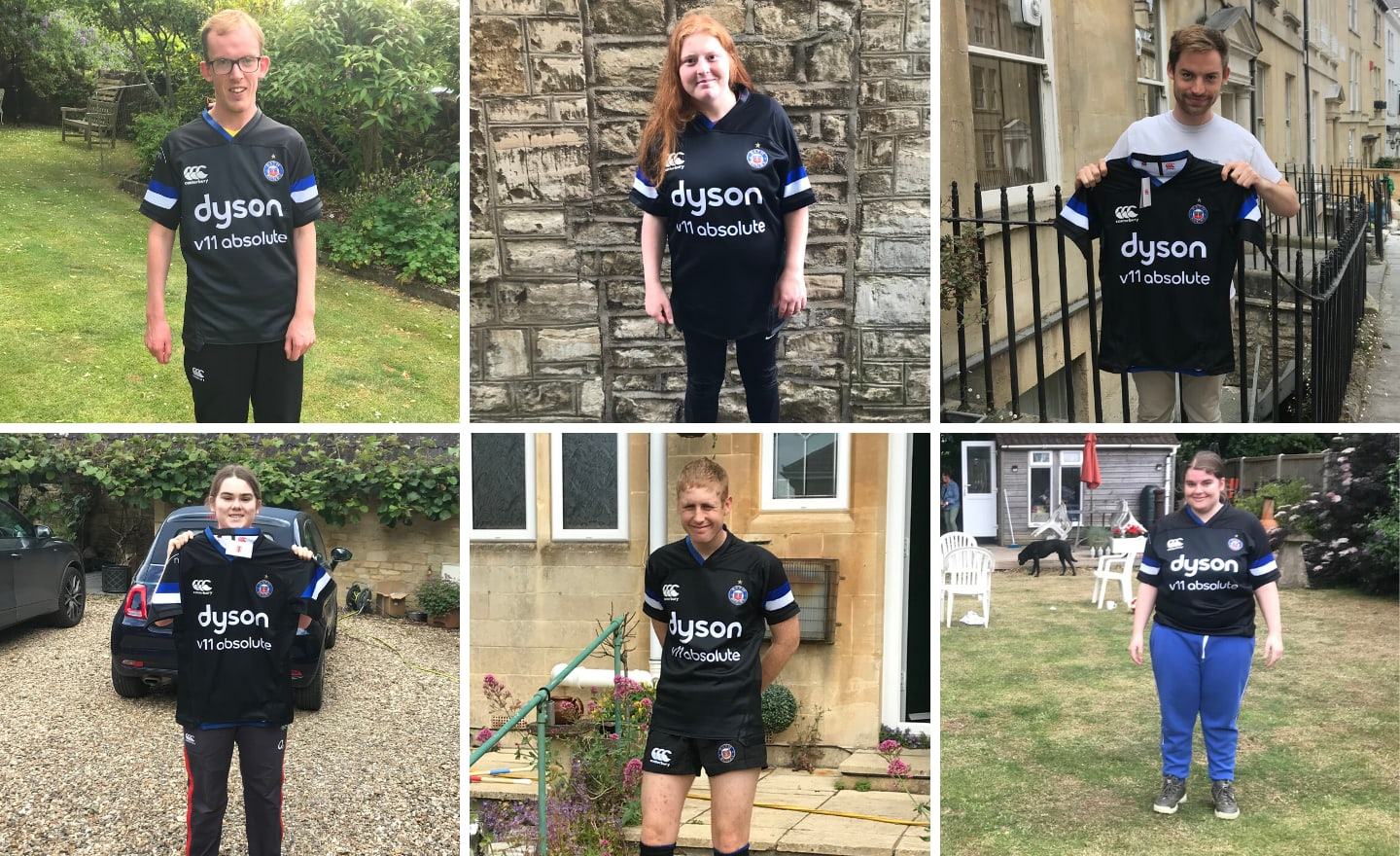 Bath Rugby donate playing kit to Mixed Ability squad after first international rugby tour is cancelled