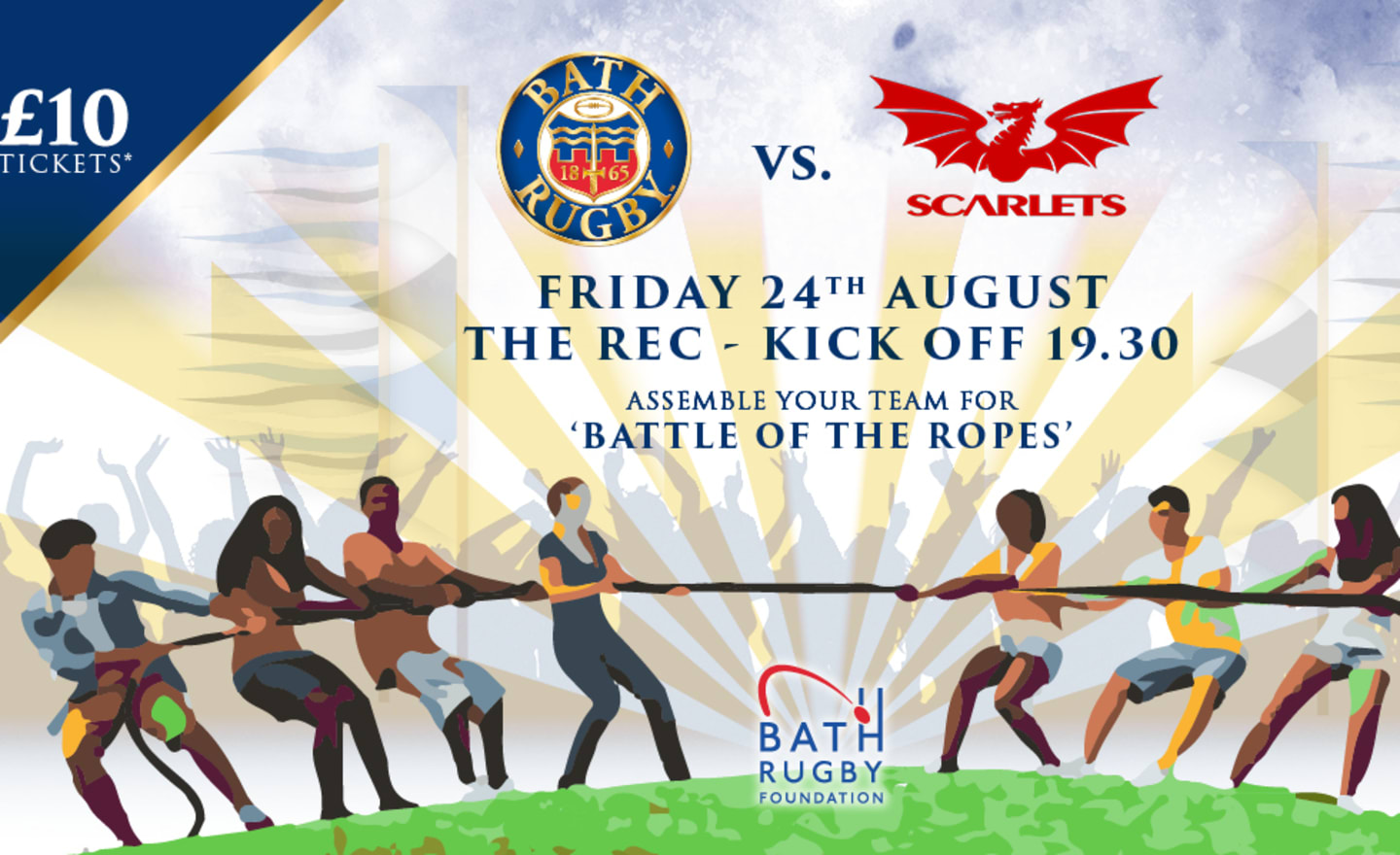 Bath Rugby announce Foundation fundraiser at Scarlets clash