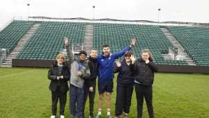 Bath Rugby invites 150 deserving youngsters to watch their heroes at The Rec